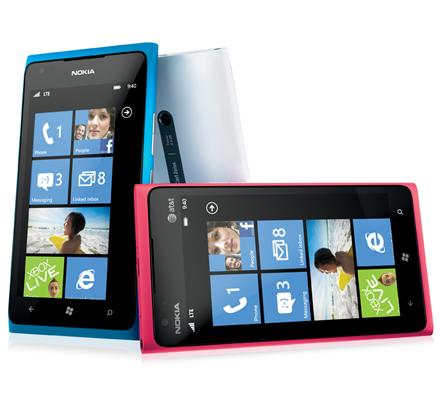 Teléfonos de Nokia con Windows Phone
