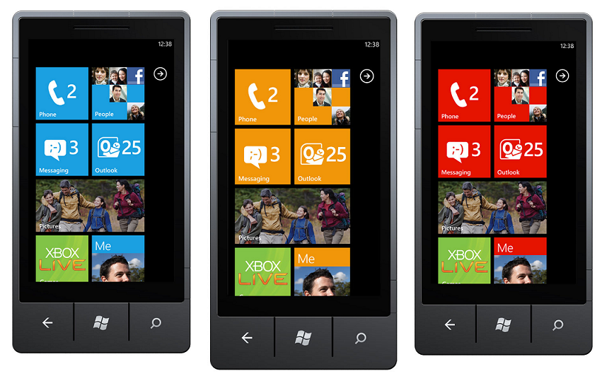 La interfaz Metro en Windows Phone