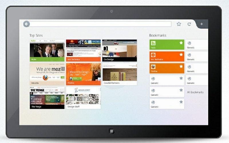 El nuevo navegador Metro Firefox