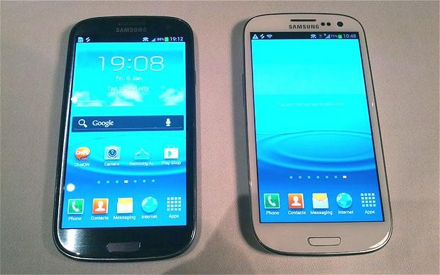 El Samsung Galaxy S3 en sus dos versiones