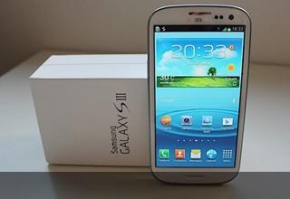 Samsung Galaxy S 3 está entre los mejores móviles Android 2012