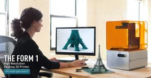 Form Labs nos permite realizar impresiones maravillosas y con increible detalle de objetos en 3D