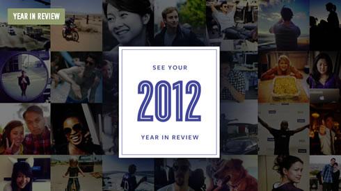 Resumen del 2012 en Facebook