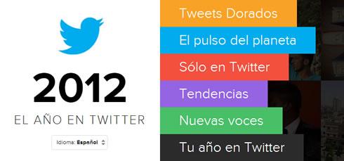 Resumen del 2012 en Twitter