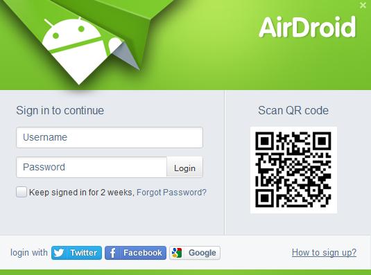 AirDroid2 Beta pública
