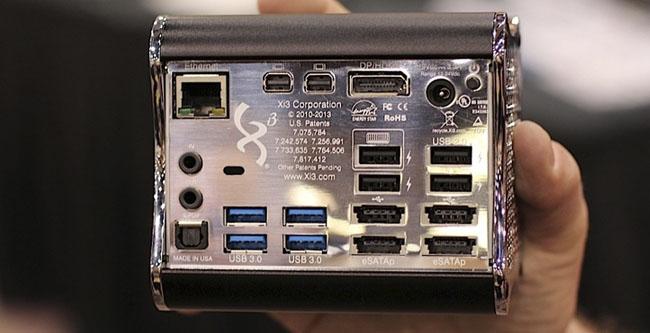 Todos los puertos y las conexiones que tendrá la consola Piston de Valve