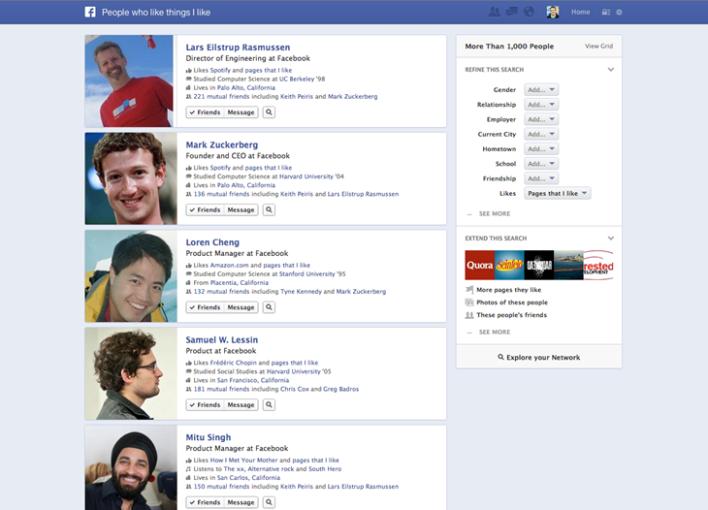 Graph Search, la nueva herramienta de búsqueda en Facebook