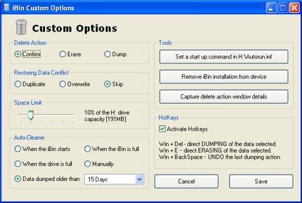 iBin es una aplicación gratuita y bastante útil