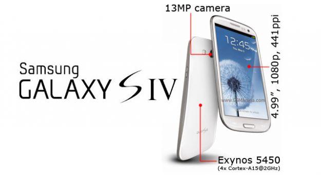 Samsung Galaxy S IV  Blanco