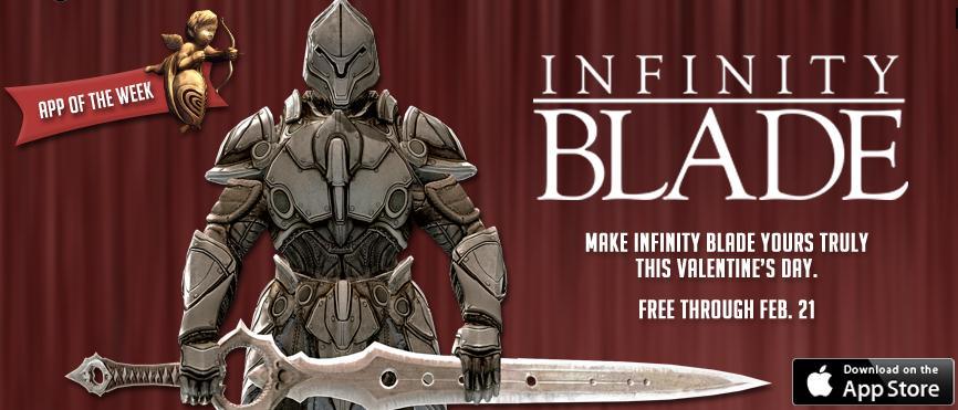 Infinity Blade gratuito hasta el 21 de febrero
