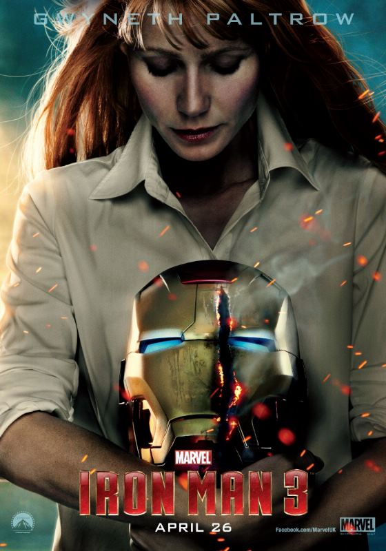 Poster de Pepper Potts para Iron Man 3