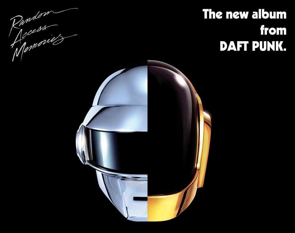 Caratula de Random Access Memories, nuevo álbum de Daft Punk