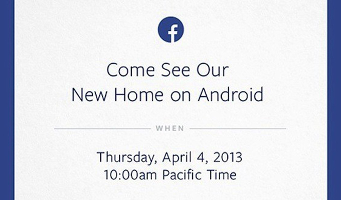 Invitación de Facebook al evento del 4 de abril