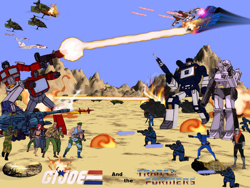 G. I. Joe y Transformers