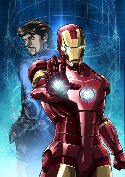 Anime Iron Man