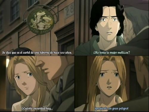 Escena subtitulada de la serie emitida