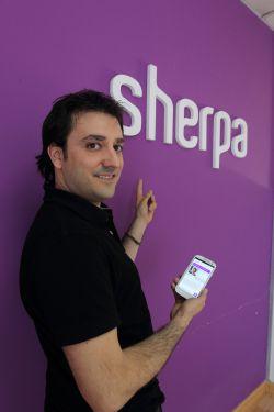 Xabier Uribe-Etxebarria fundador de Sherpa
