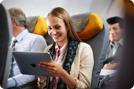 En poco tiempo los usuarios podrían usar sus tablets todo el vuelo