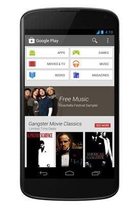 Nuevo Diseño Google Play
