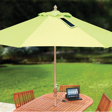 Solar Charging Patio Umbrella