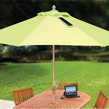 Solar Charging Patio Umbrella