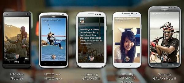 Teléfonos compatibles con Facebook Home