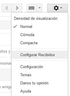Gmail-pestañas
