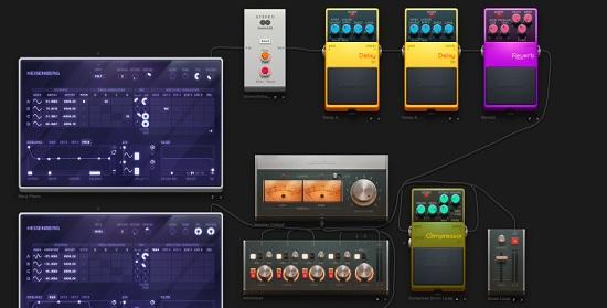 Interfaz Audiotool
