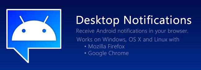 Nos permite tener en nuestra computadora las notificaciones de nuestro teléfono móvil
