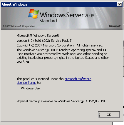 Windows Server Stadard