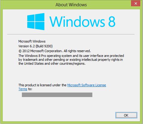 Winver es un comando que nos indica la versión de Windows que estamos utilizando.