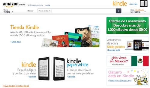 Amazon llega a México