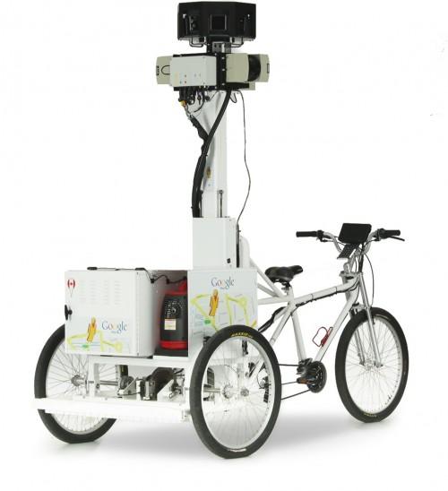 Bicicleta de Street View