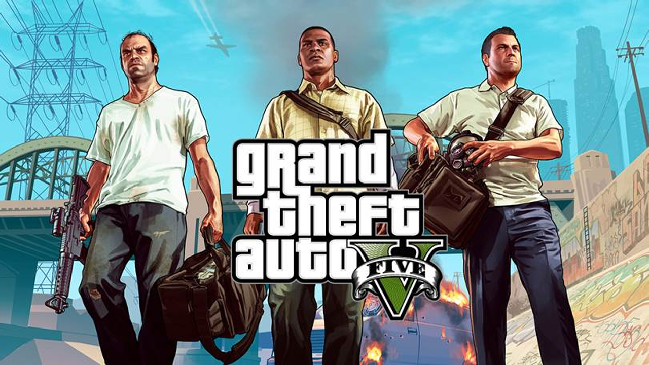 Grand Theft Auto 5, Michael, Franklin y Trevor