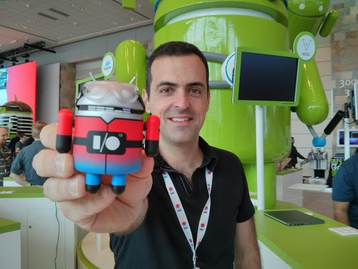 Hugo Barra en Google I/O
