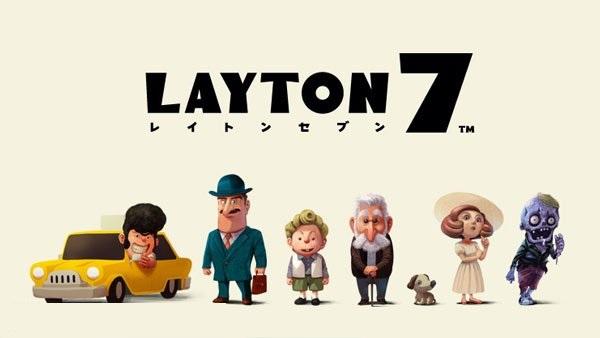 Profesor Layton 7 imágenes de los personajes