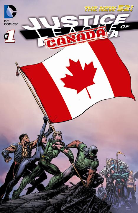 Portada de La Liga de la Justicia de Canadá
