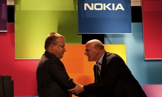 Elop y Ballmer
