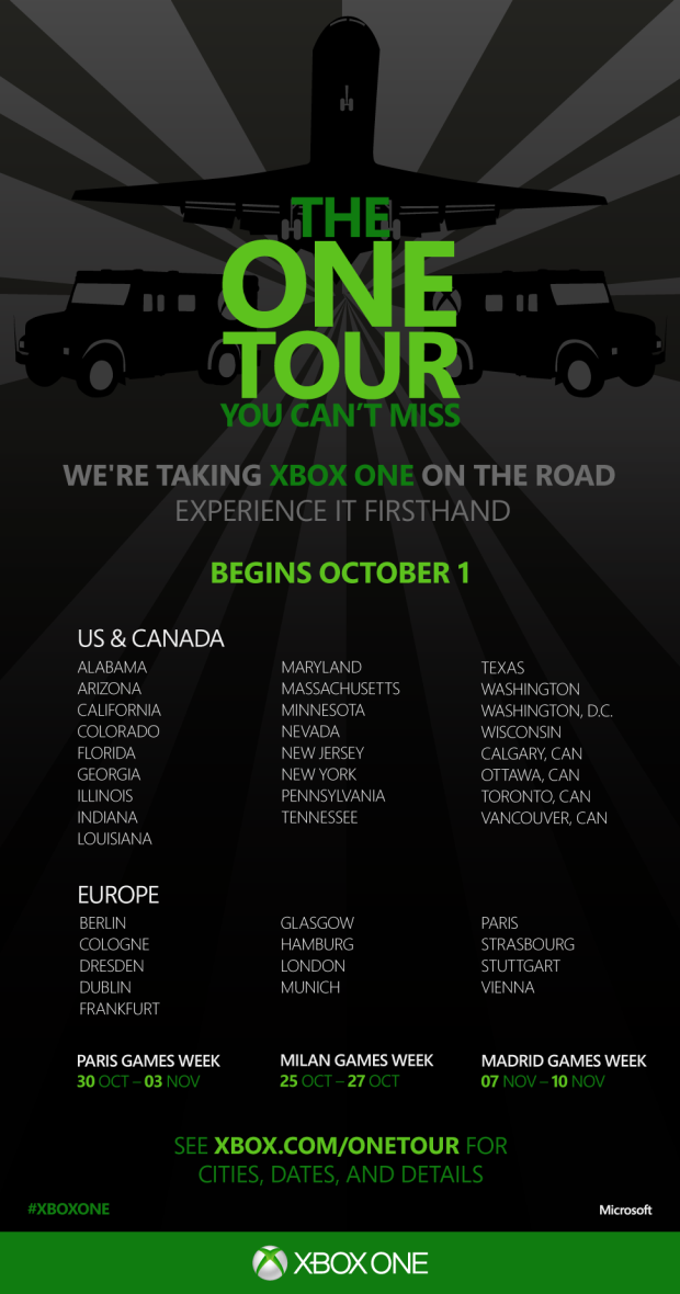 Poster The One Tour
