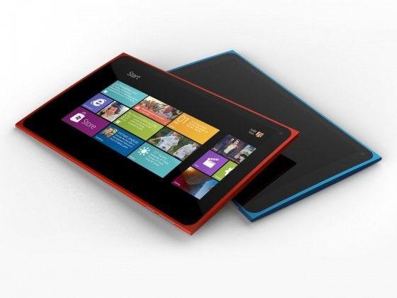 Concepto de la tablet de Nokia