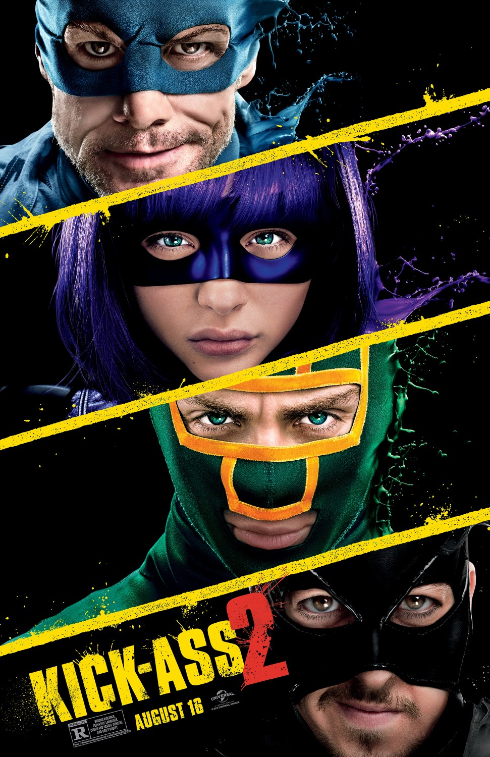 kick-ass-2-Póster de la Película Kick Ass 2
