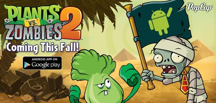 Plants Vs Zombies 2 para Android