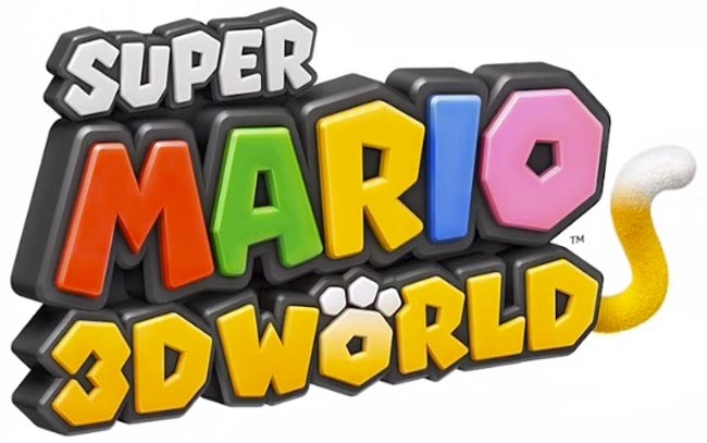 Logo Super Mario 3D World