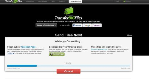 TransferBigFiles 1