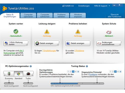 Tune Up Utilities 2014, tu mejor optimizador de PC 2