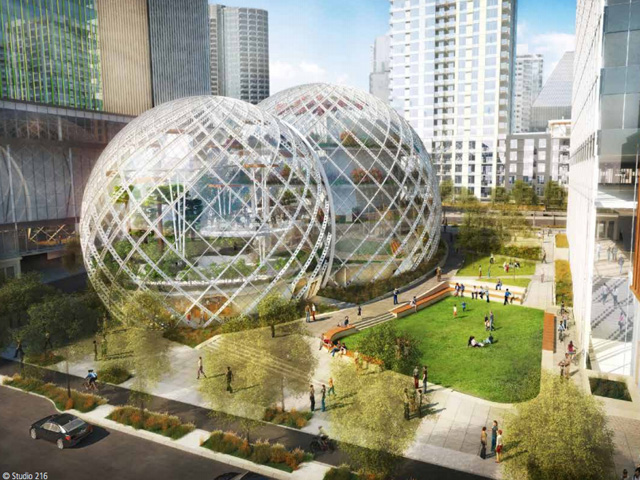Futuras Oficinas de Amazon en Seattle