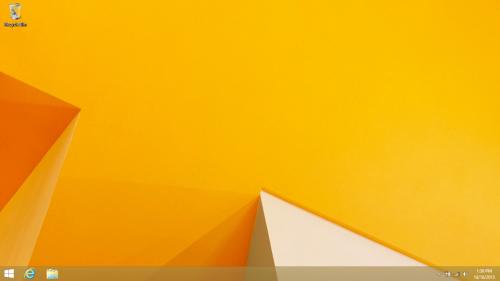 El botón de inicio regresa con Windows 8.1 con mas funcionalidades.