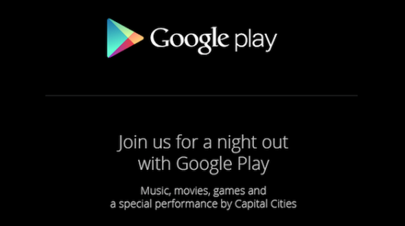 Invitación Google Play