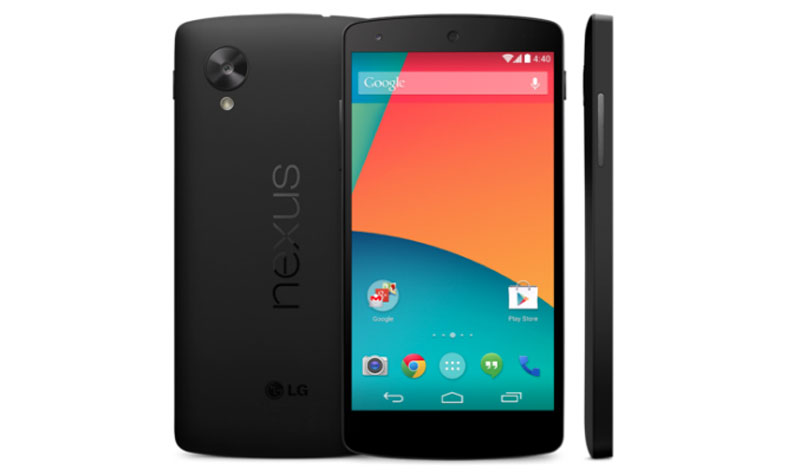 Especificaciones del Google Nexus 5