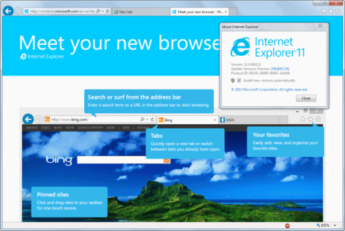 Firefox IE Opera Chrome 2